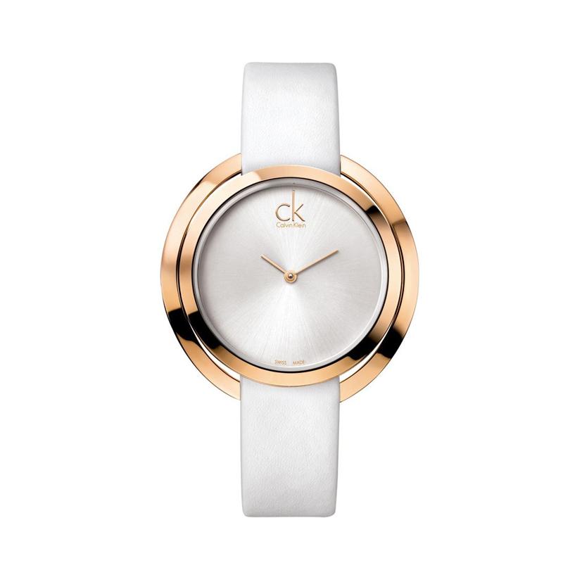 97582b296a8a relojes calvin klein mujer blanco dorado