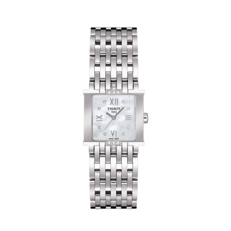 CuadradoTissotSix reloj T Reloj Diamantes Clasico Con wukXOiTPZ