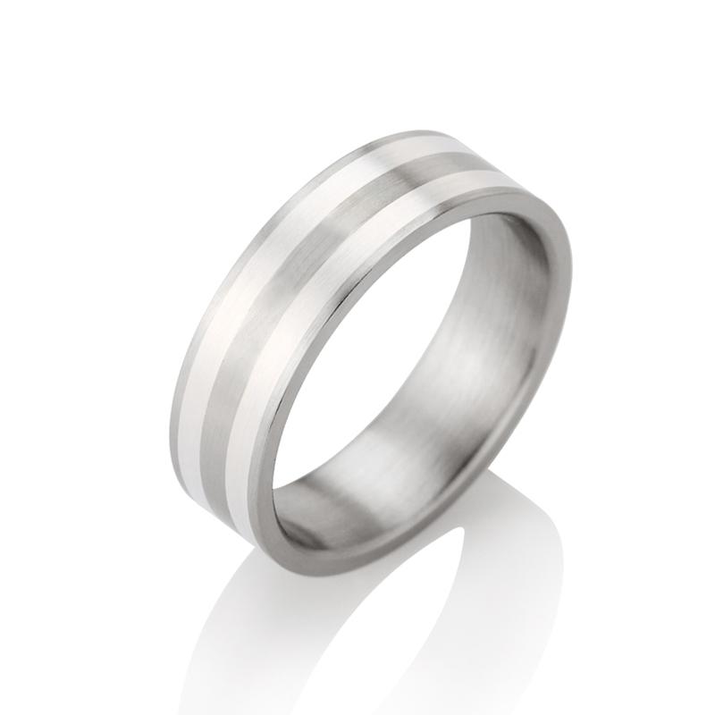 11daa30b5714 Anillo diseñado por Teno. Acero y plata