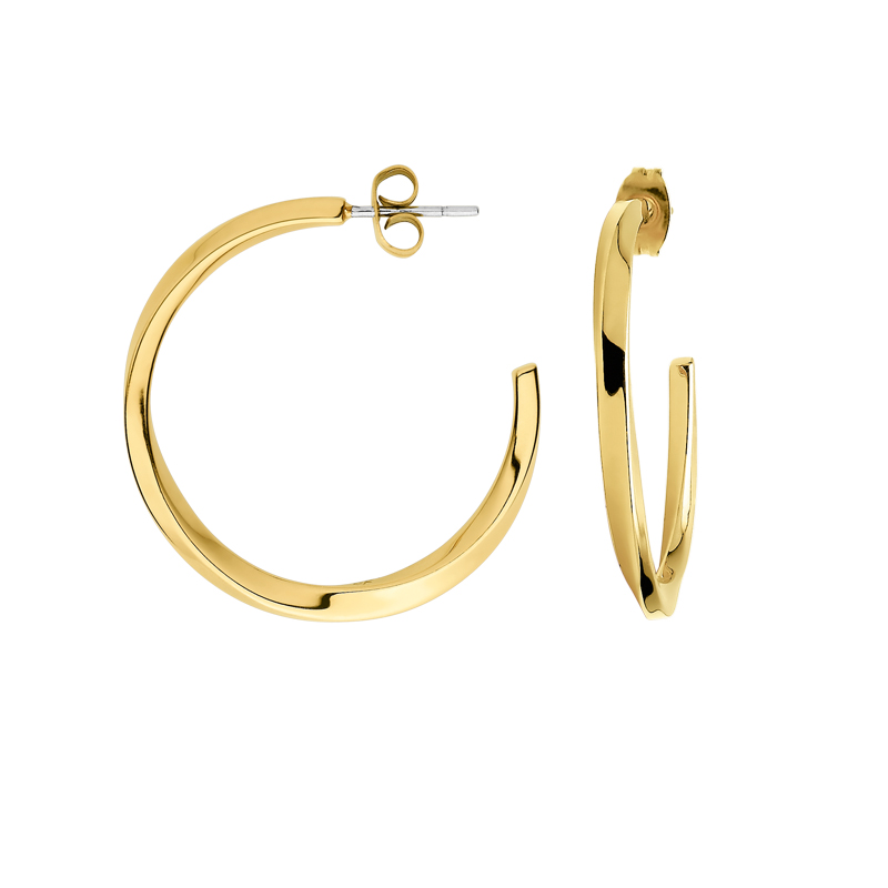 2b2a973e609c Pendientes Calvin Klein. Aros dorados
